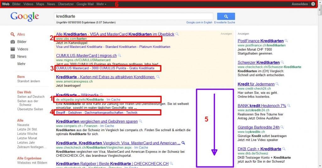 Auswirkungen Änderung Google auf organische Suchergebnisse